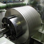 slitting tinplate coil