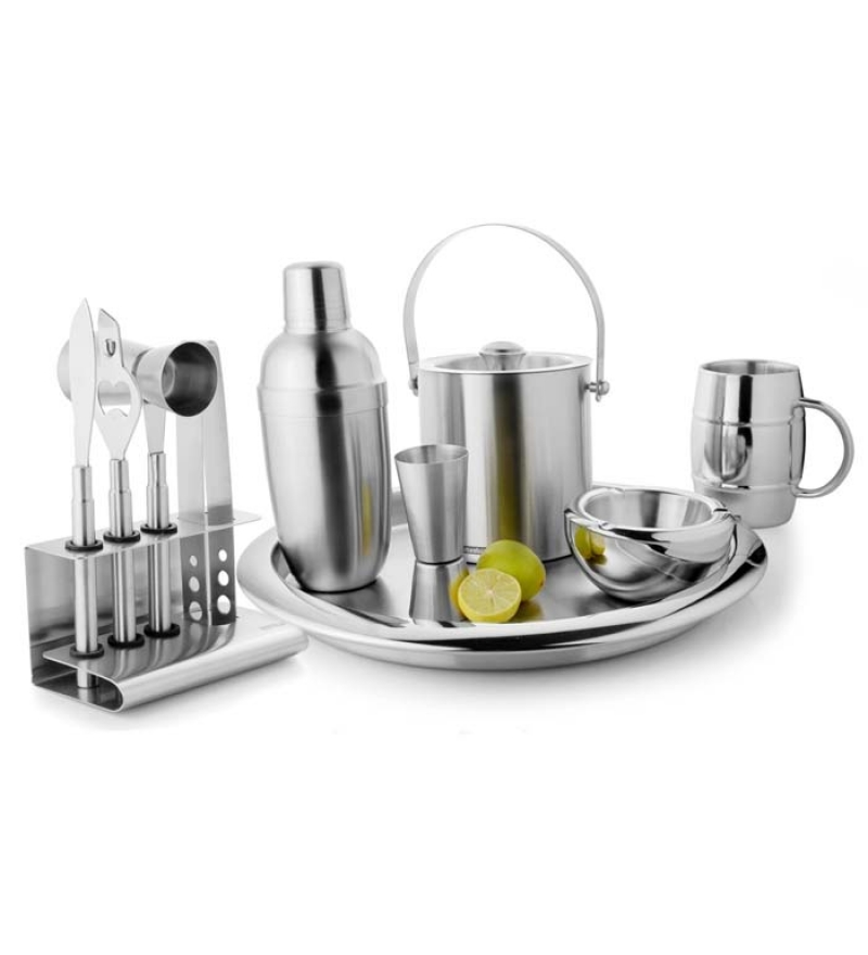Stainless-Steel-Bar-Set
