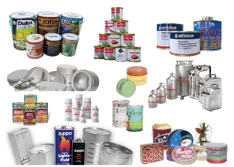 food can, tinplate aerosol can, tinplate package